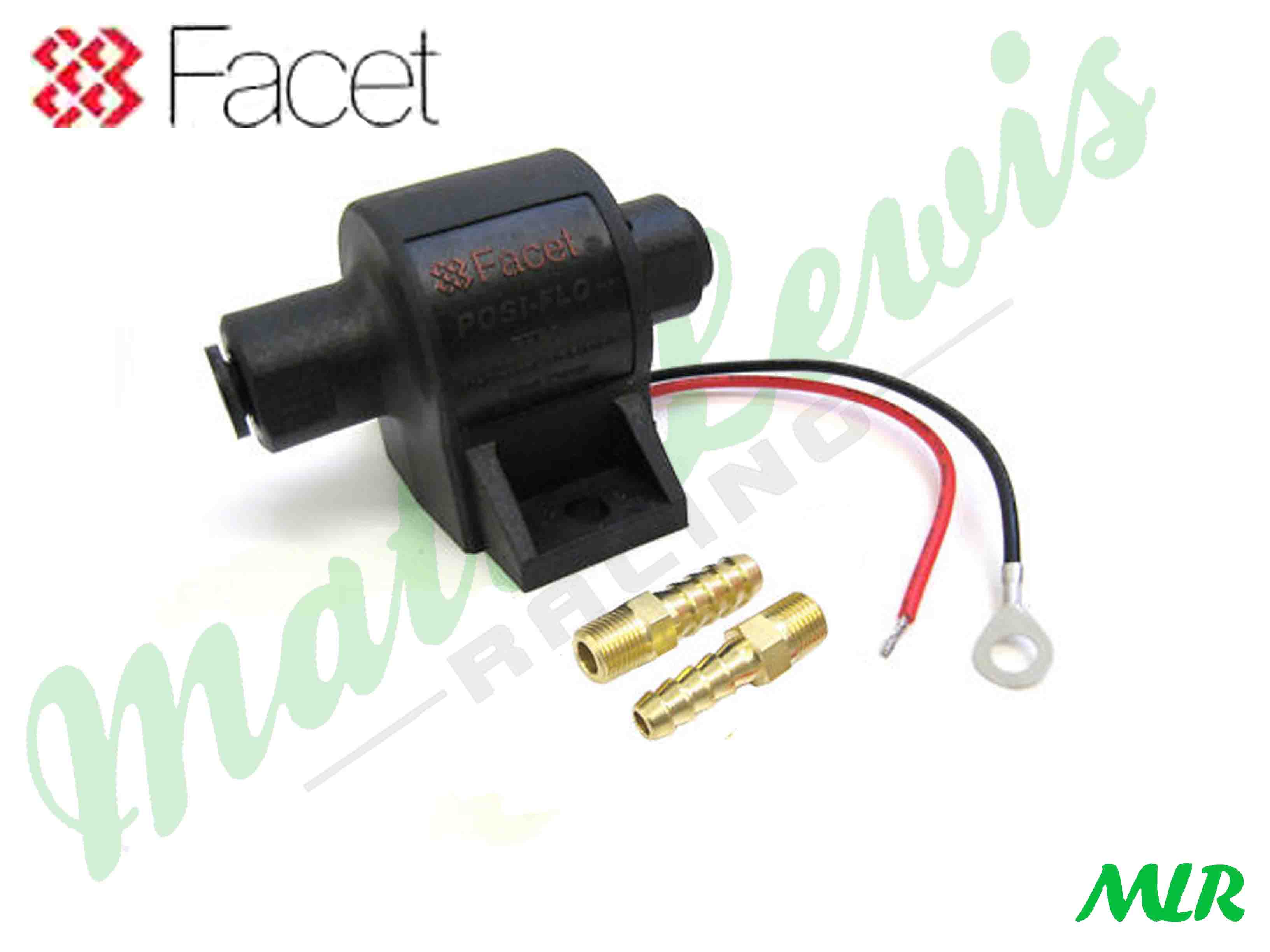 6mm FACET Fuel Pump Union race//rally//autograss//kitcar//trackday