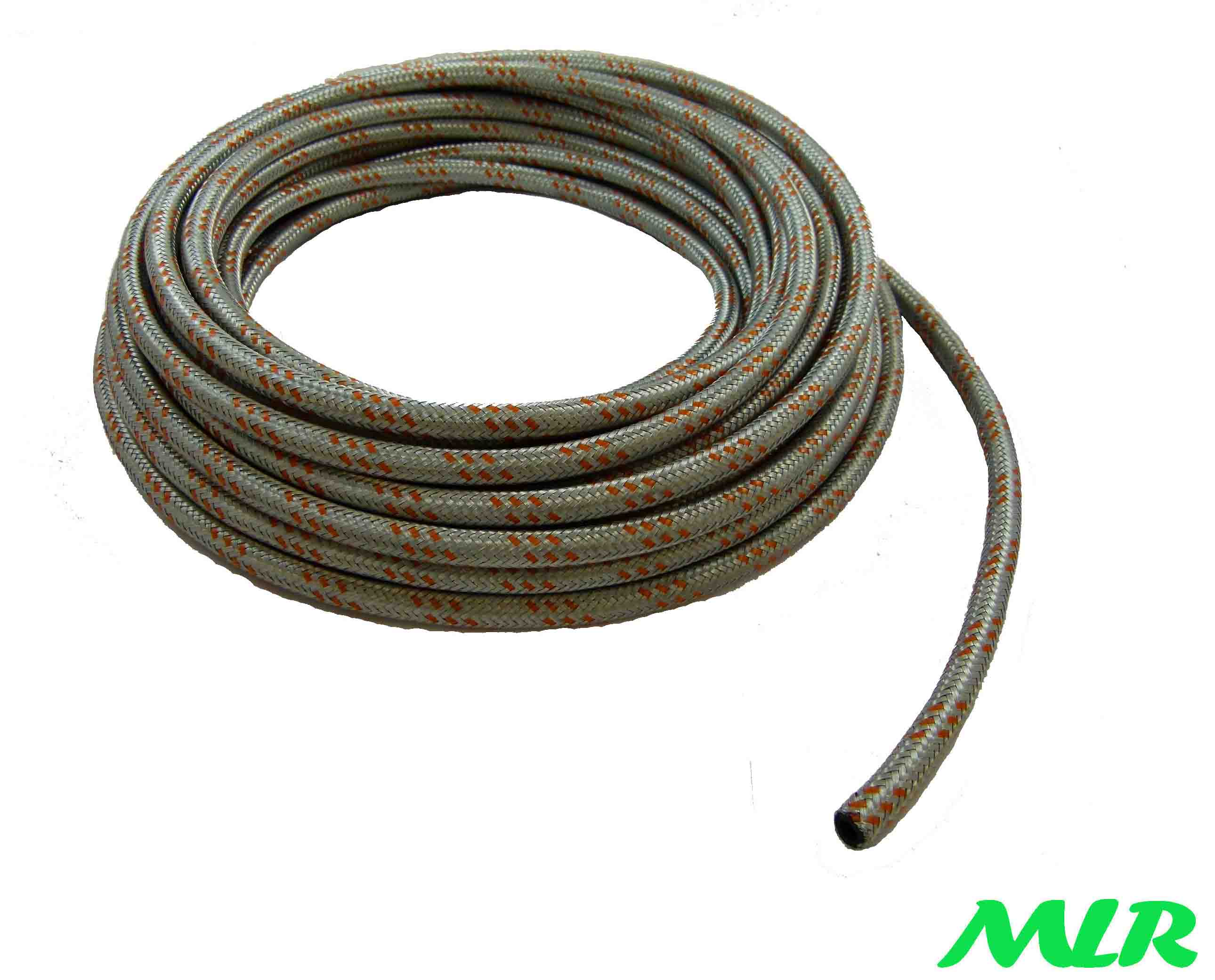 Braided Low Pressure Fuel Hose Pipe For Classic Cars (5m) > Fuel Hose